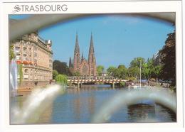 Strasbourg: L'Eglise Saint-Paul - Le Tram - TRAM/STRAßENBAHN/TRAMWAY - (Alsace) - Toerisme