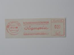 Ema, Meter, Olympia, Typewriter, Calculator - Usines & Industries