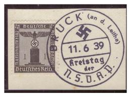 Dt-Reich (007184) Propagandasonderstempel Auf Briefstück, Bruck A.d. Leitha, Kreistag Der NSDAP, Gestempelt Am 11.6.1939 - Deutschland