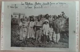 Yemenites Family In Ramleh Israel Palestine Photo 9x14cm - Yemenitische Joden Jewish Judaica Item - Jewish