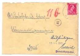 Oorlog Guerre - Adres Weermachtsgevangene Rodolphe De Clercq Gent - 1943 - Documents
