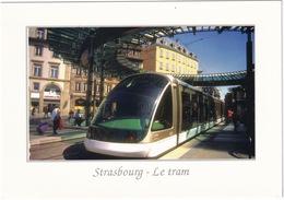 Strasbourg: Le Tram. Longueur 33,10 M., Capacité 230 Personnes, 12 Moteurs - TRAM/STRAßENBAHN/TRAMWAY - (Alsace) - Toerisme