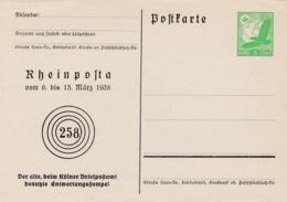REICH :  PA 43 Sur Entier Postal Neuf - Briefe U. Dokumente