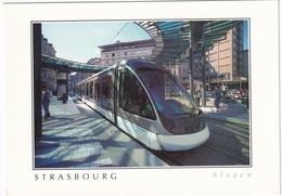 En Alsace... Strasbourg: Le Tram - TRAM/STRAßENBAHN/TRAMWAY - Toerisme