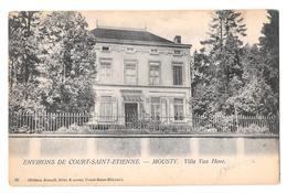 Environs De Court Saint étienne Mousty Villa Van Hove édition Semail (36) Bon état Non Circulée - Court-Saint-Etienne