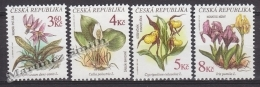 Czech Republic - Tcheque 1997 Yvert 131-34 Flora, Protected Flowers -  MNH - República Checa