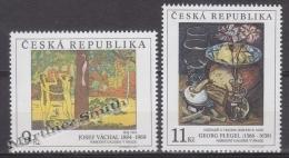 Czech Republic - Tcheque 1996 Yvert 127-28 Art, National Gallery Paintings -  MNH - República Checa