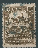 MEXICO : C234  -  1896 Used  12 C. - Messico
