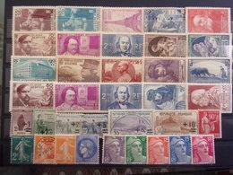 FRANCE BELLE LOT NEUF* 1922/1940 DEPART 1 EURO - Frankreich