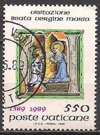 Vatikan  (1989)  Mi.Nr.  973  Gest. / Used  (6ad33) - Vatikan