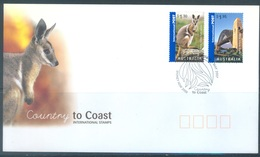 AUSTRALIA  - FDC - 1.5.2007 - COUNTRY TO COAST WALLABY HARBOUR BRIDGE - Yv 2711-2712  - Lot 18568 - Premiers Jours (FDC)
