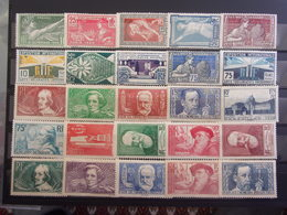 FRANCE BELLE LOT NEUF* 1922/1950 DEPART 1 EURO - Frankreich