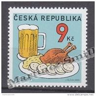 Czech Republic - Tcheque 2005 Yvert 400, Europe, Gastronomy  - MNH - Neufs
