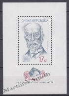 Czech Republic - Tcheque 2000 Yvert BF 9 - President Tomas Garrigue Masaryk 150th Anniversary - MNH - Tchéquie