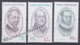 Czech Republic - Tcheque 2005 Yvert 396/ 98, Characters, Bohuslav Brauner, Adalbert Stifter, Mikulas Dacicky - MNH - Tchéquie