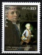 NEVIS 1v Mint MNH - Mozart Compositeur Composer Music Musique Komponist Musik Música Muziek Piano Austria - Musique