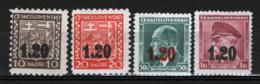 Sudetenland 1938 4 Val. **/MNH VF/F - Sudeti