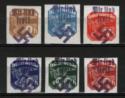 Sudetenland 1938 6 Val. **/MNH VF/F - Sudeti