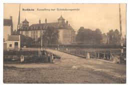Reckheim Kanaalbrug Met Rijkskoloniegesticht Bon état Non Circulée - Lanaken