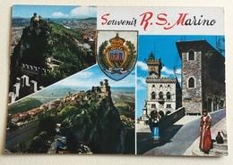 SOUVENIR R. SAN MARINO  - VIAGGIATA FG - San Marino