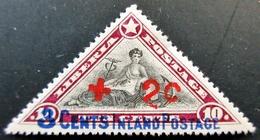 1916 LIBERIA Yt 116 , Mi 128I, Sn B1 .  Inland . Overprinted 2 On 3 . Neuf Charnière Trace De Charnière - Liberia