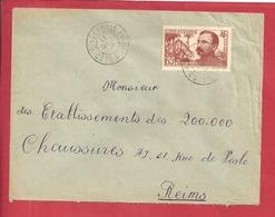 Y&T N°139 BINGERVILLE   Vers  FRANCE 1938  2 SCANS - Côte-d'Ivoire (1892-1944)