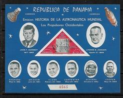 #B109A# PANAMA MICHEL BL 98a MNH**. SPACE, KENNEDY. - Panama