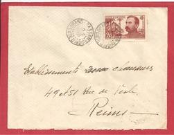Y&T N°139 GRAND BASSAM   Vers  FRANCE 1938  2 SCANS - Côte-d'Ivoire (1892-1944)