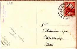 "Latvia Lettland Pc With Cancel JAUNPILS ""B"" 8.5.1940. - Lettonie"