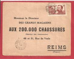 Y&T N°139 ABIDJAN   Vers  FRANCE 1938  2 SCANS - Côte-d'Ivoire (1892-1944)