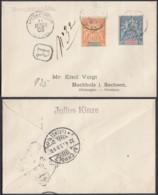 Colonies Francaises - Lettre Nouvelle Calédonie 1903 Recommandé De Noumea Vers Allemagne (5G23704) DC1128 - Nouvelle-Calédonie