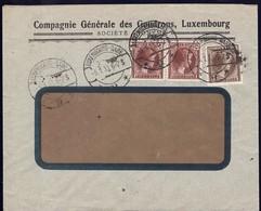 1933 Lettre Commerciale: Compagnie Générale Des Goudrons Luxembourg, Michel: 2x171,189 - Lettres & Documents