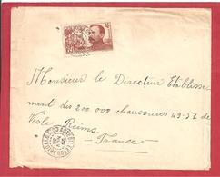 Y&T N°139 AGNEBILEKOU   Vers  FRANCE 1938  2 SCANS - Côte-d'Ivoire (1892-1944)