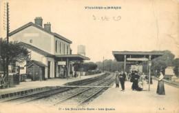 94 -  VILLIERS SUR MARNE - LA NOUVELLE GARE - LES  QUAIS - Villiers Sur Marne