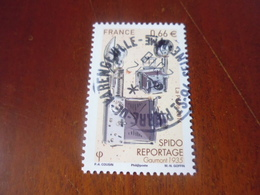 OBLITERATION RONDE  SUR TIMBRE GOMME ORIGINE YVERT N° 4921 - France