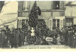 CPA N°24435 - EPINEUIL - FETE CIVILE DES VIGNERONS 22 JANVIER 1906 - REPRODUCTION - France