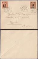 Colonies Francaises - Lettre Taxé Nouvelle Calédonie 1904 (5G23704) DC1130 - Covers & Documents
