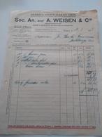 Soc. An. A. Weisen & Cie Esch/Alzette 1933 - Luxembourg