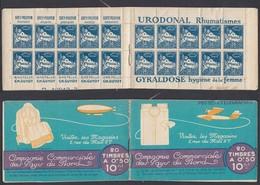 Algérie 1926 - Carnet Publicitaire Dallay Nº12 Série 117 - Petit Défaut (DD) DC1131 - Algerien (1924-1962)