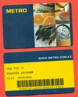 A Plastic Card. - Company Logo Napkins
