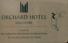 Singapore Hotel Key, Orchard Hotel (1pcs) - Singapour