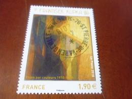 OBLITERATION RONDE  SUR TIMBRE GOMME ORIGINE YVERT N° 5206 - France
