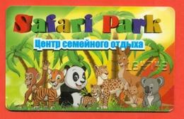 A Plastic Card. Panda. - Loisirs Créatifs