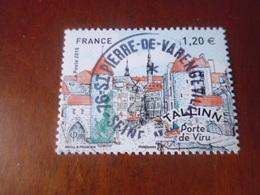 OBLITERATION RONDE  SUR TIMBRE GOMME ORIGINE YVERT N° 5212 - France