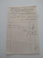 Nic. Gillengerten-thoma / Esch - Alzette 1937 - Luxembourg
