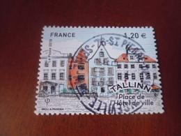 OBLITERATION RONDE  SUR TIMBRE GOMME ORIGINE YVERT N° 5215 - France