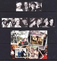 Great Britain 2007 Diamond Wedding - Queen Elizabeth Set Of  6 + Minisheet CTO - Usati