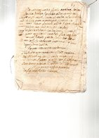 Document De 16 Pages Manuscrites En Latin .18e Siècle. - Documenti Storici