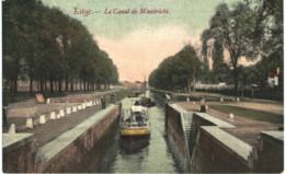 LIèGE Le Canal De Maestricht. - Liege