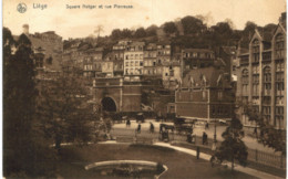 LIèGE   Square Notger Et Rue Pierreuse. - Liege